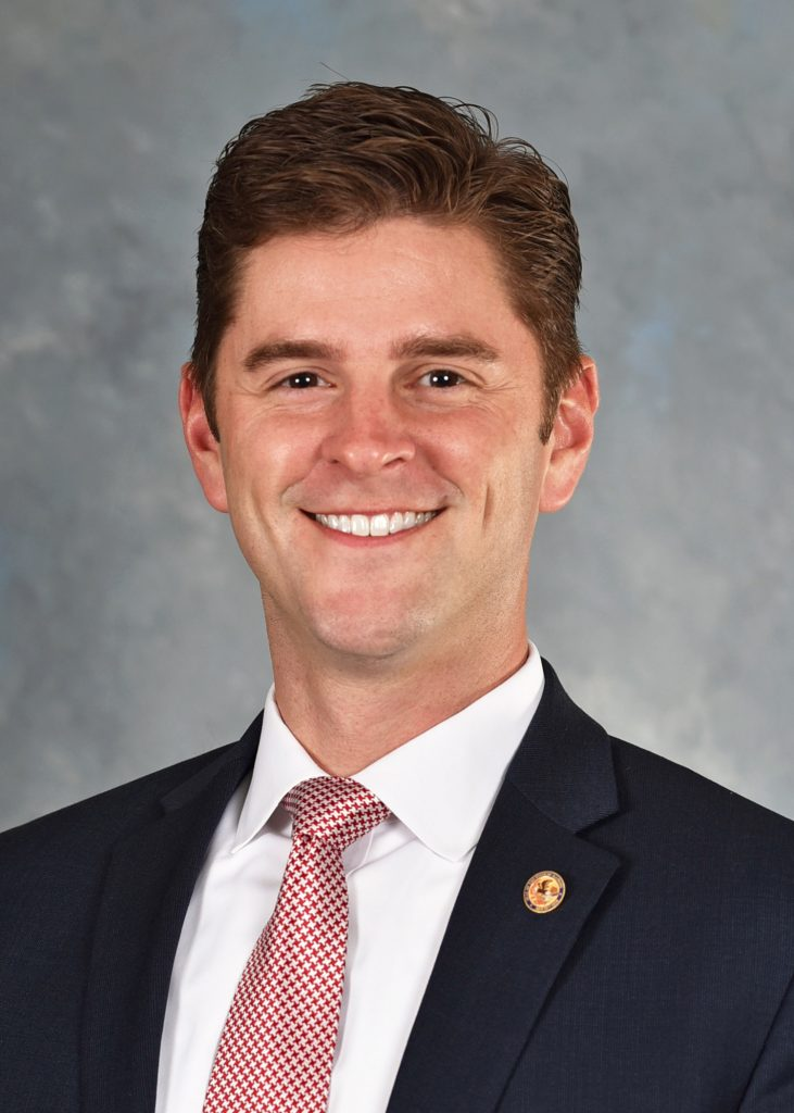 Illinois State Rep Ryan Spain Headshot